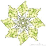 8-stars-ketupat-isolated-10709625